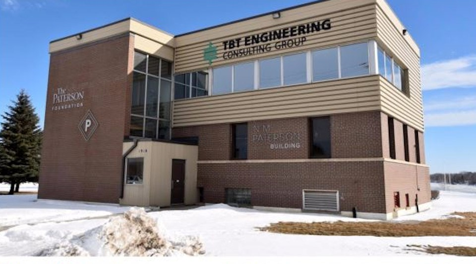 TBT Engineering headquarters in Thunder Bay (Company photo)