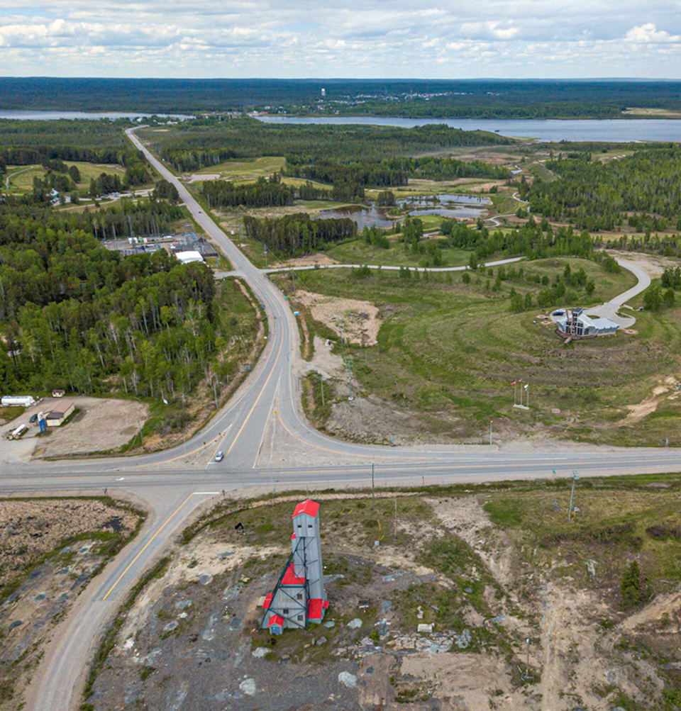 Premier Gold Hardrock intersection
