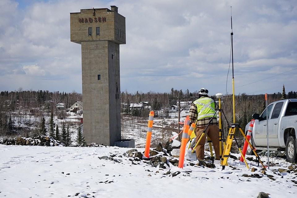 Pure Gold Red Lake surveyor