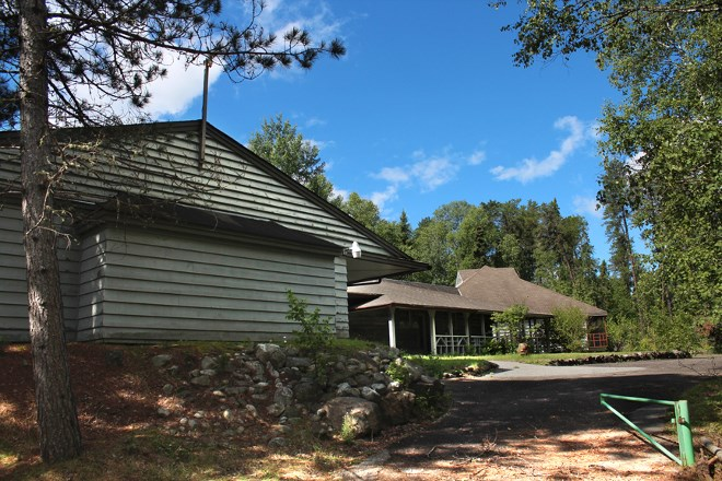 Built in the 1960s, the conference space at Quetico is once again in use by companies and groups for training workshops and courses. (Supplied).