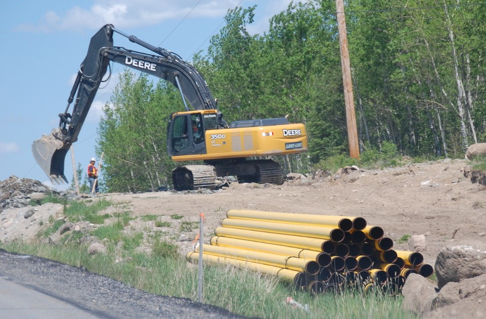 Red Lake nat gas pipeline
