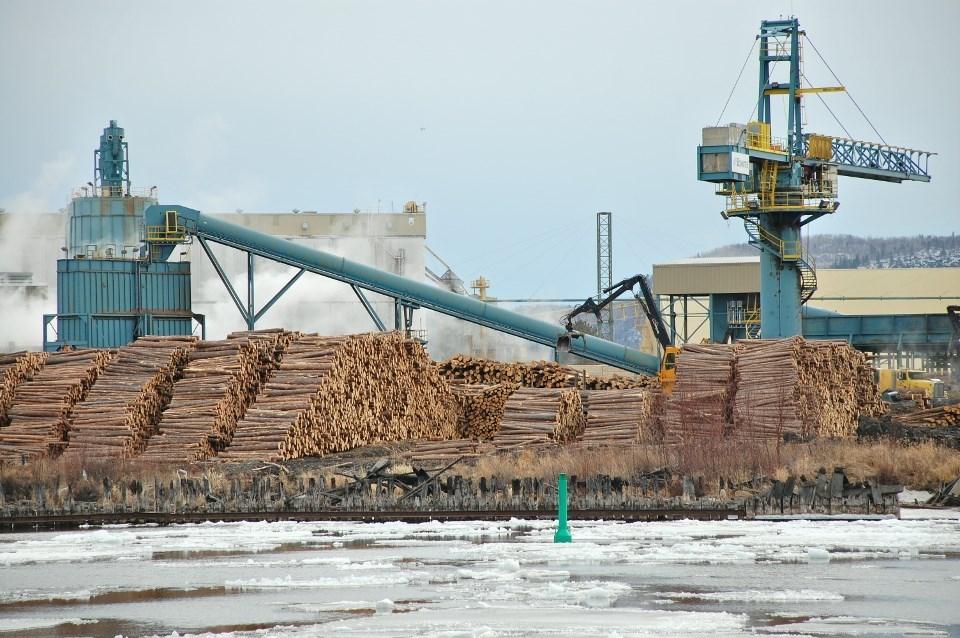 Resolute sawmill Thunder Bay