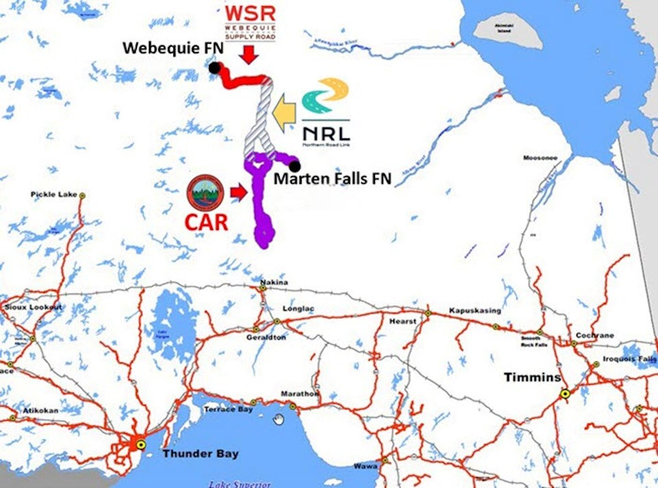 Ring of Fire road map