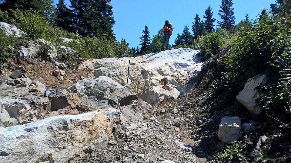Rock Tech Lithium Georgia Lake Project site