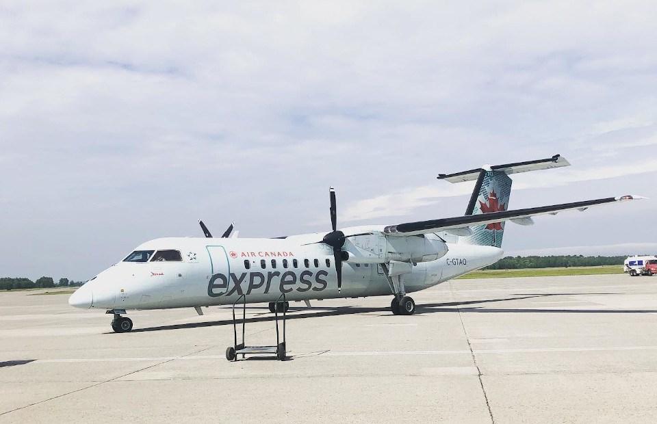 Sault airport Air Canada