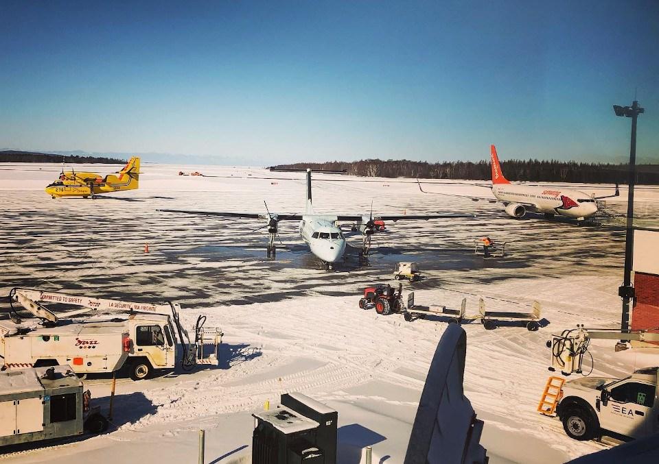 Sault Airport apron 2