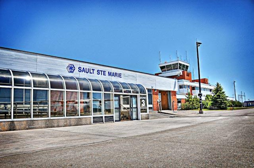 Sault airport terminal building