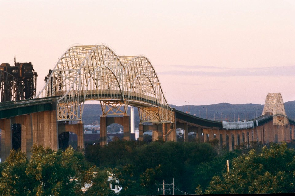 Sault International Bridge (Michigan DOT photo)