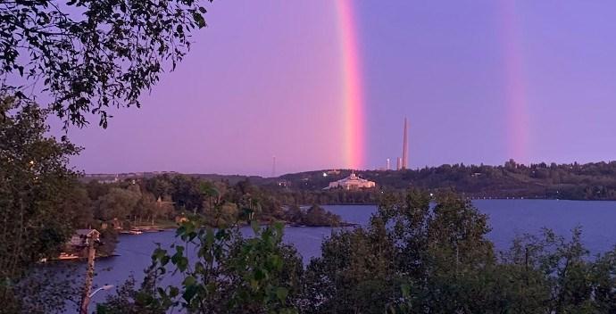 Science North rainbow