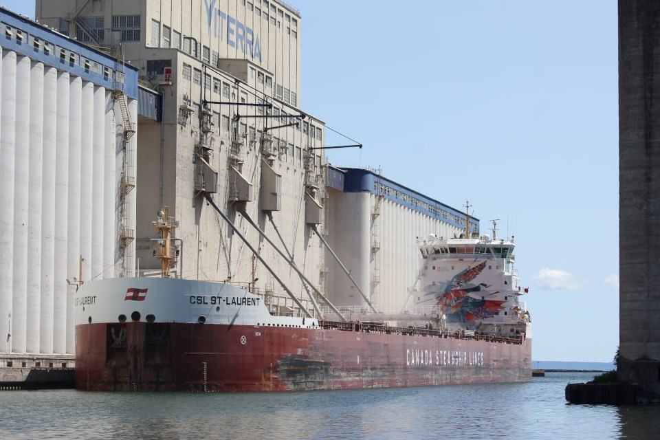 Ship in T-Bay