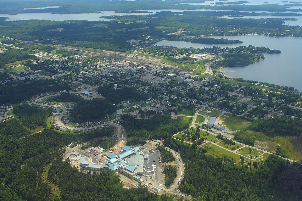 Sioux Lookout from the Air - Shot27TB
