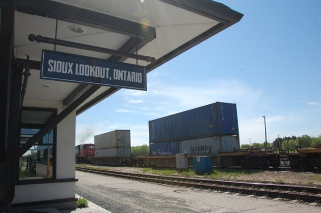 Sioux Lookout rail yard
