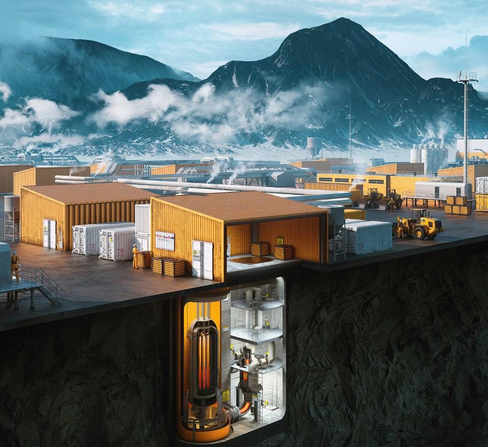 Small nuke reactors