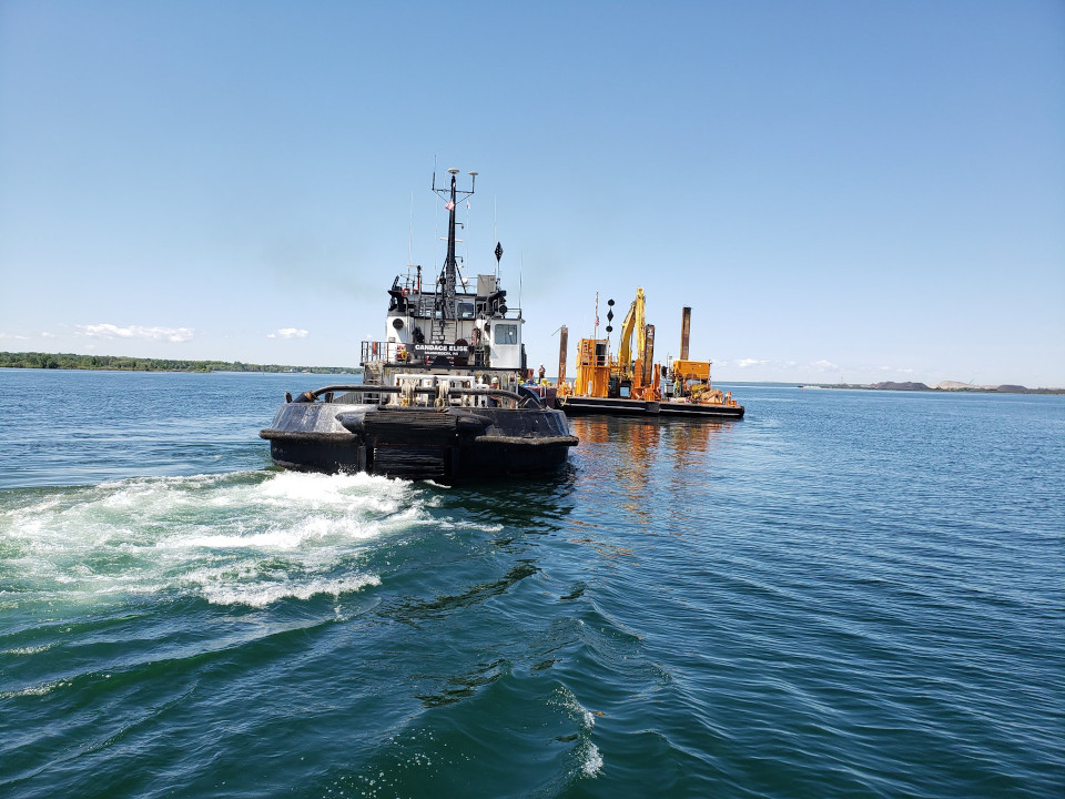 Dredging Starts For New Lock Construction In Sault Michigan Sootoday Com