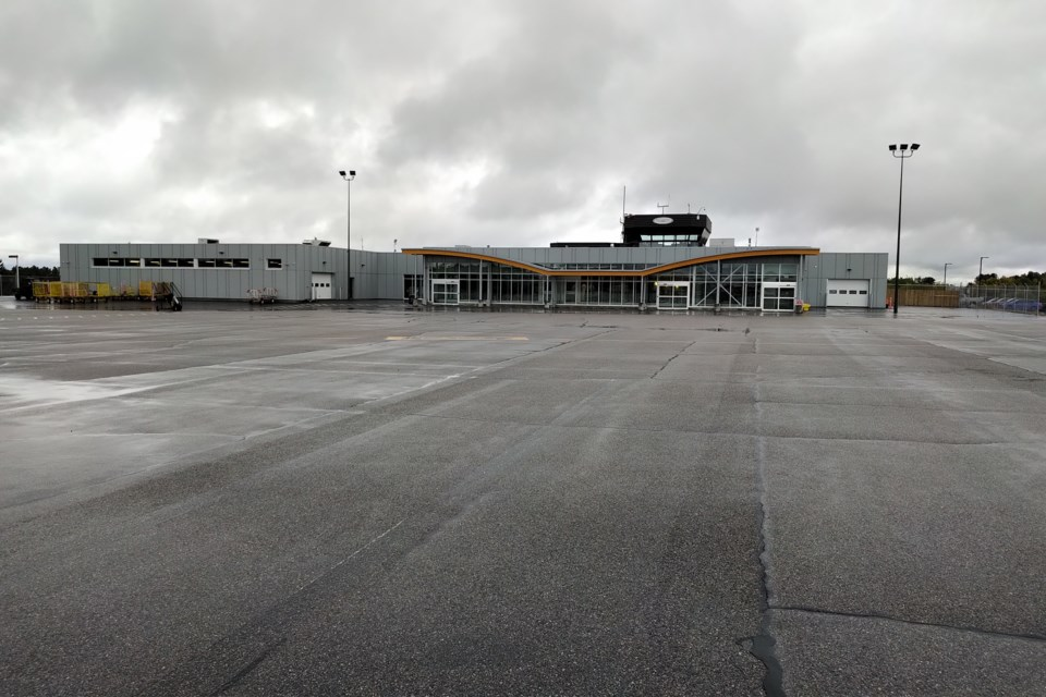 Sioux Lookout Airport expansion was completed in 2018