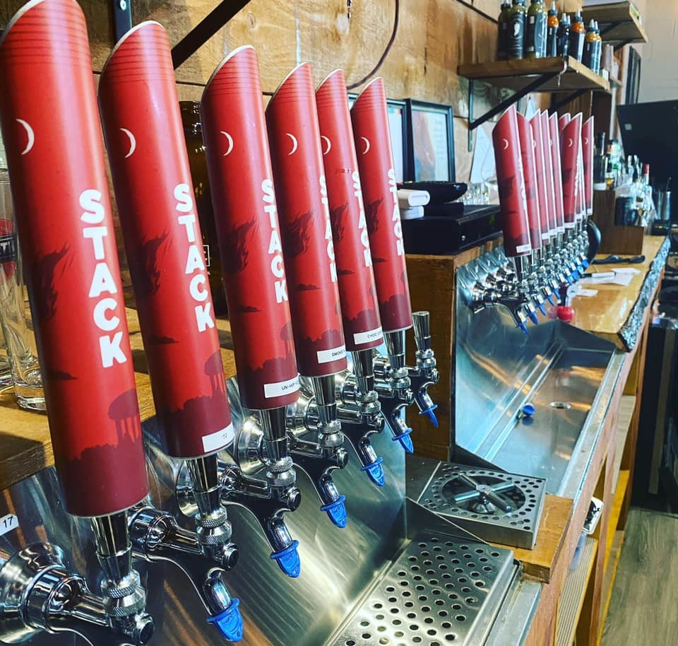 Stack Brewing taps (Supplied)