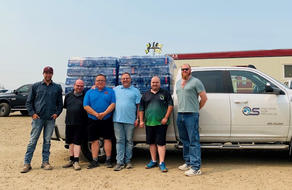 Steel River Group donation