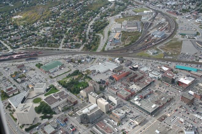 Sudbury aerial