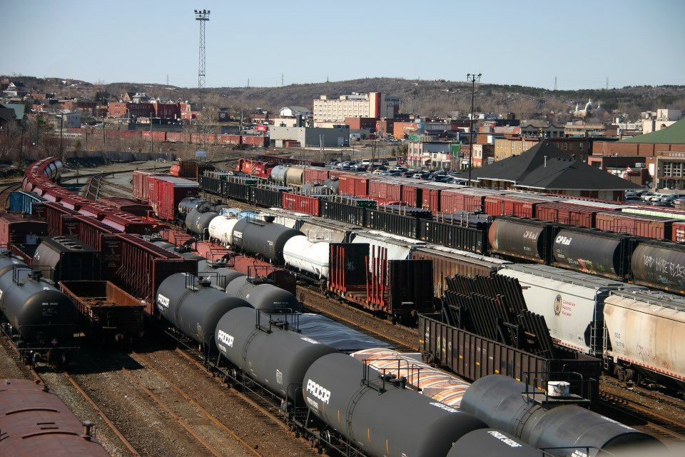 Sudbury rail yard