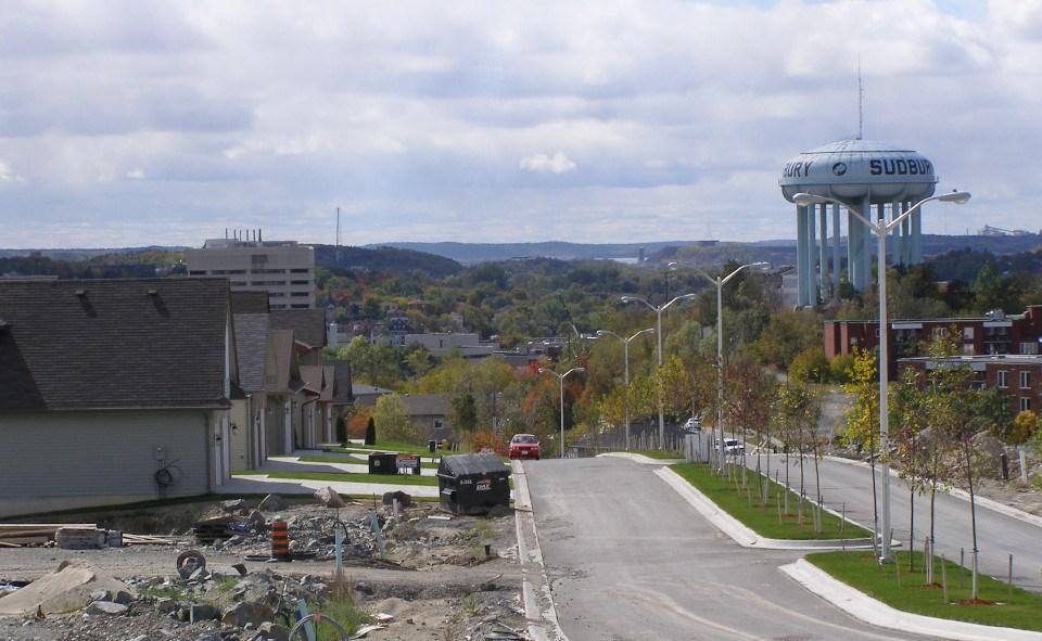 Sudbury subdivision construction