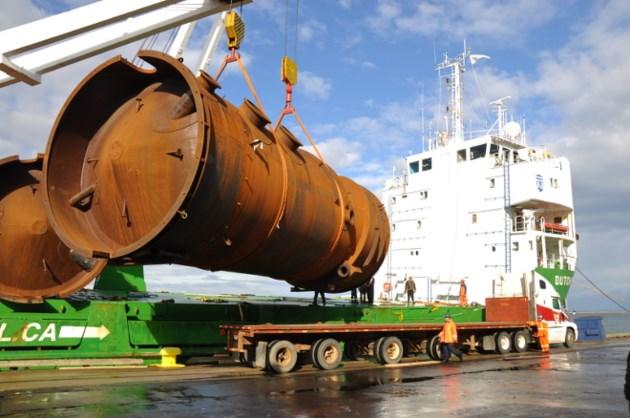 T-Bay Port Authority steel cargo