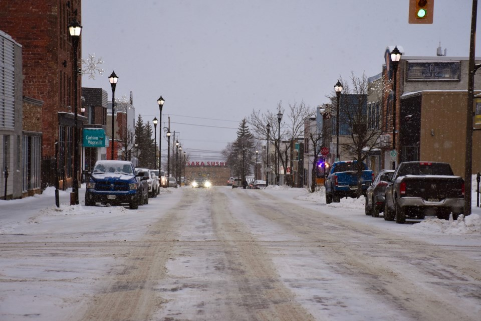 Third Avenue Timmins (Winter)