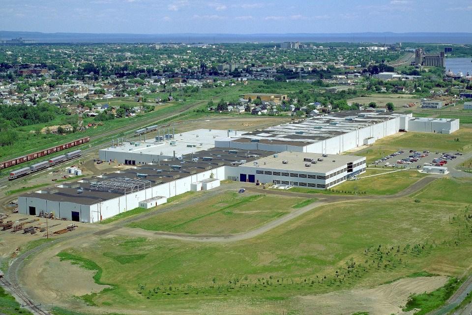 Thunder Bay Bombardier plant