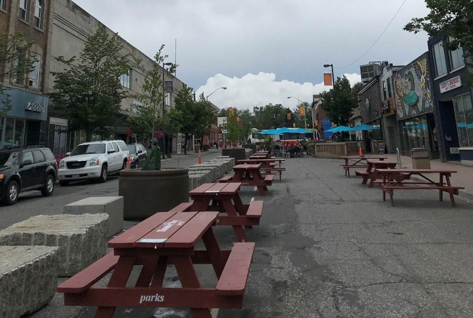 Thunder Bay outdoor patios