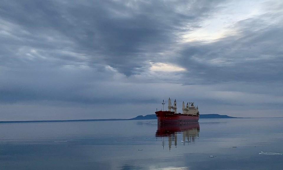 Thunder Bay port freighter