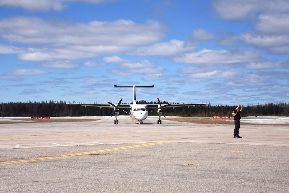 Timmins Airport (Timmins Today)