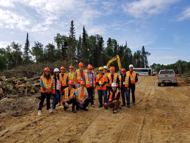 Timmins forestry tour