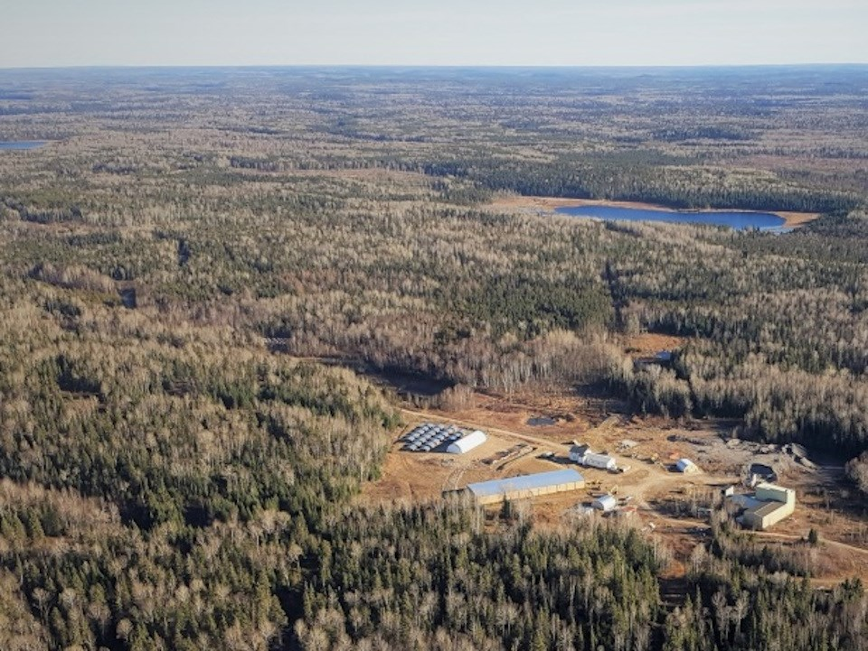 Treasury Metals Goldlund Project aerial