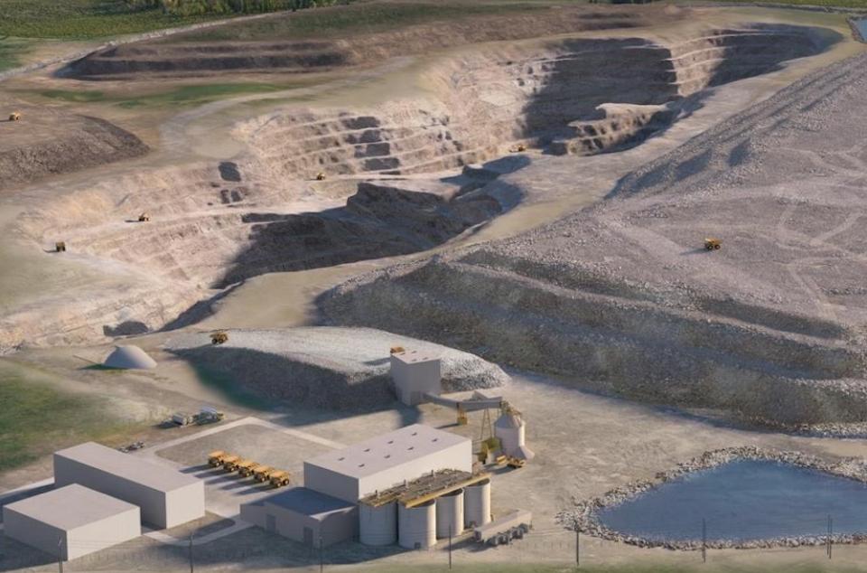 Treasury Metals Goliath conceptual
