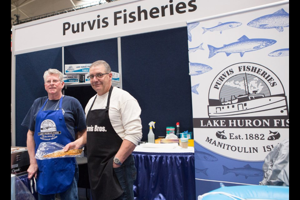 Purvis Fisheries, which hails from Silver Water on the west end of Manitoulin Island, will be one of six agri-food producers exhibiting at the Restaurant Canada Show 2020 in Toronto this March. (Supplied photo/RAIN)