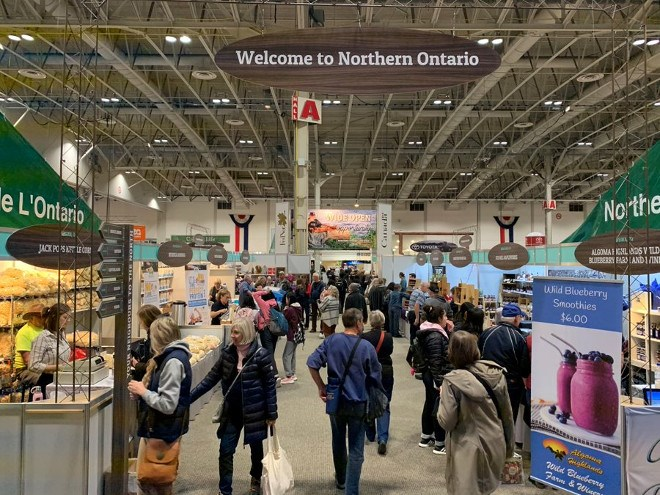 More than 50 northern producers are exhibiting at the 2019 Royal Agricultural Winter Fair in Toronto. (FedNor photo)