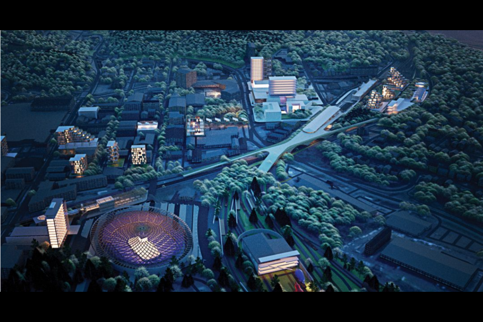"The finalists have been named for the Sudbury 2050 Urban Design Ideas Competition. Pictured is ""Northern Tradition,"" a finalist in the open category submitted by a team from Canada. (Supplied image)"