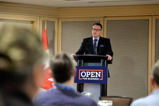 Greg Rickford, minister of energy, Northern development and mines, and Indigenous affairs, announced on March 5 a revamped Northern Ontario Internship Program that will expand learning opportunities for Northerners. (Supplied photo)