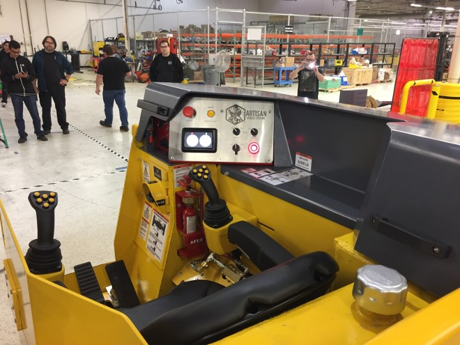 Sandvik has closed its Kirkland Lake shop, which serviced Artisan battery-electric vehicles in use at Kirkland Lake Gold's nearby Macassa Mine. (Supplied photo)