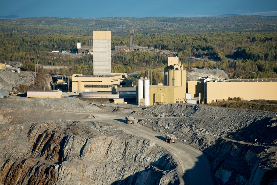 The open-pit mine at Barrick Gold's Hemlo complex will cease mining operations at the end of October, and mining will transition to an underground-only operation. (Supplied photo/Barrick Hemlo)