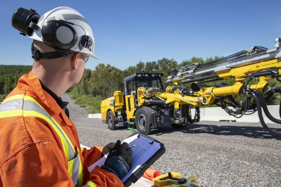 Every underground mining vehicle has to go through a series of tests before it can be used at the work site.
