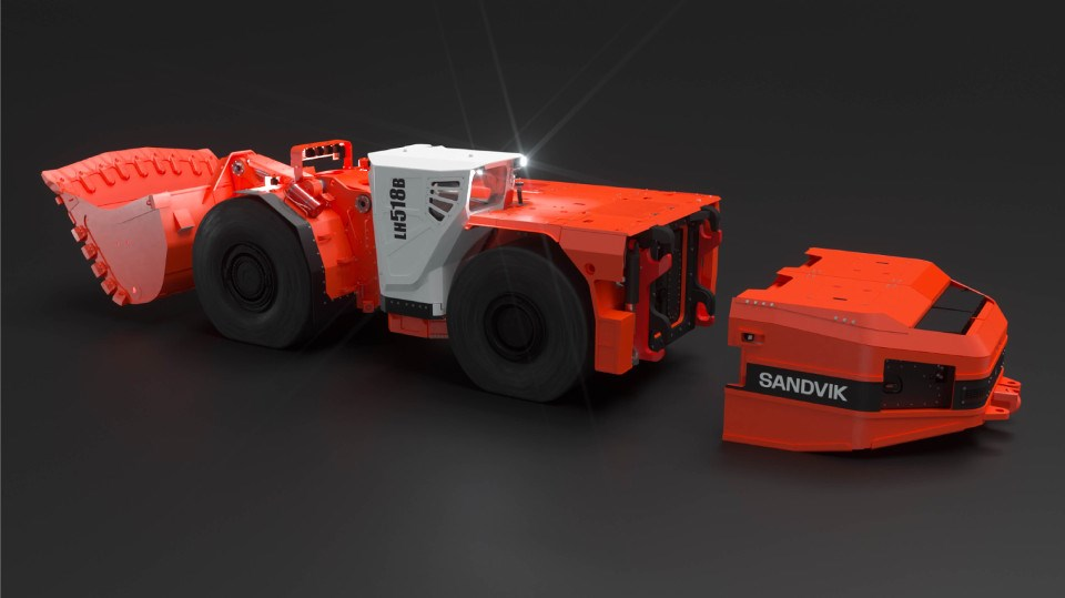 Sandvik Mining & Rock Technology is considered an expert in battery electric vehicles for underground mining. (Supplied photo/Sandvik)