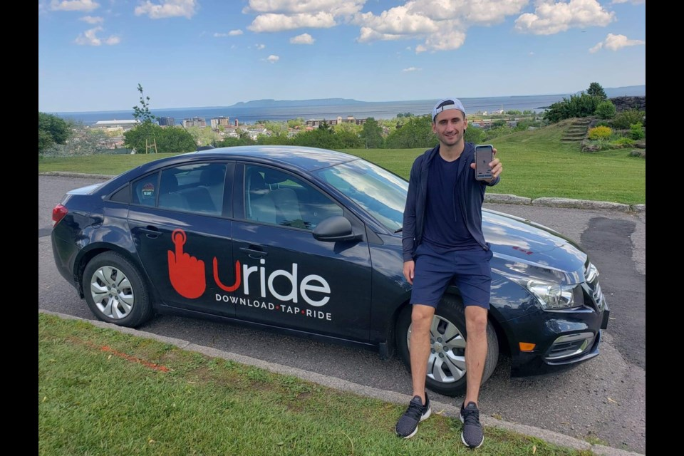 Cody Ruberto, CEO and founder at Uride, has launched a spinoff company, Uride Services, to offer shopping and delivery services to customers who wish to stay out of retail outlets during the pandemic. (Supplied photo)