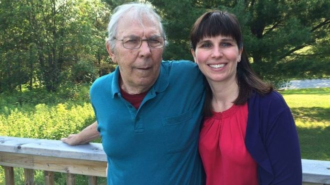 Janice Martell cried when she learned the Ontario Network of Injured Workers Groups (ONIWG) would hold a memorial cycling ride between Massey and Elliot Lake this May in tribute to her late father, Jim Hobbs. (Fill)