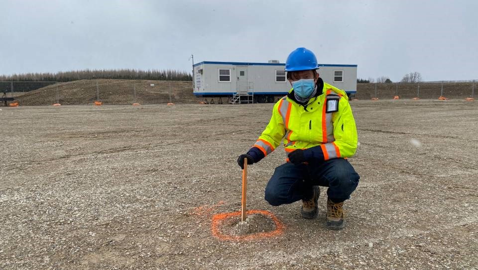 Borehole drilling resumes at potential nuclear waste storage site