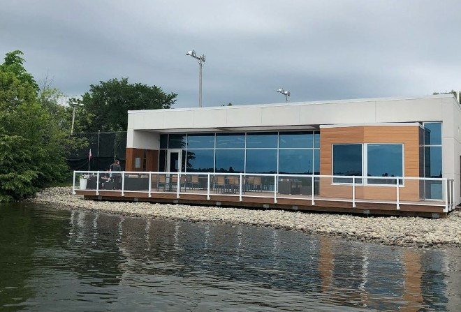 The Waterfront Adventure Centre, run by Sault College, opened its doors in June. (Supplied photo)