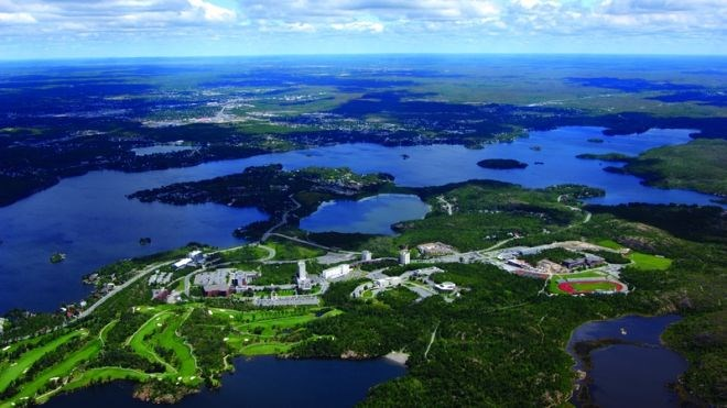 Laurentian University in Sudbury as seen from the air. (File)