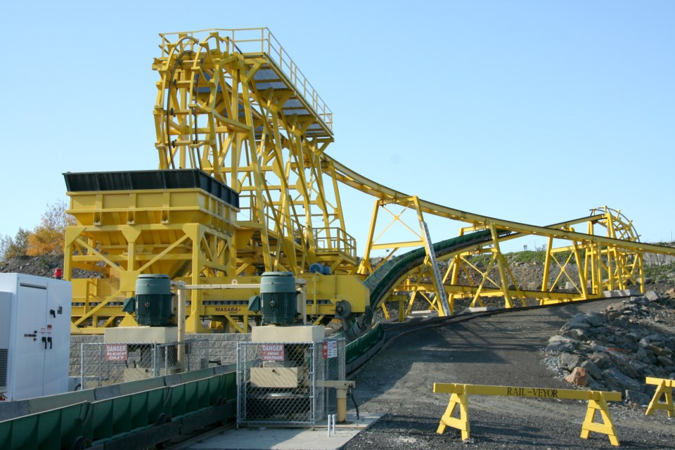 Rail-Veyor Technologies built its demonstration plant in Sudbury in 2010. (Supplied photo)