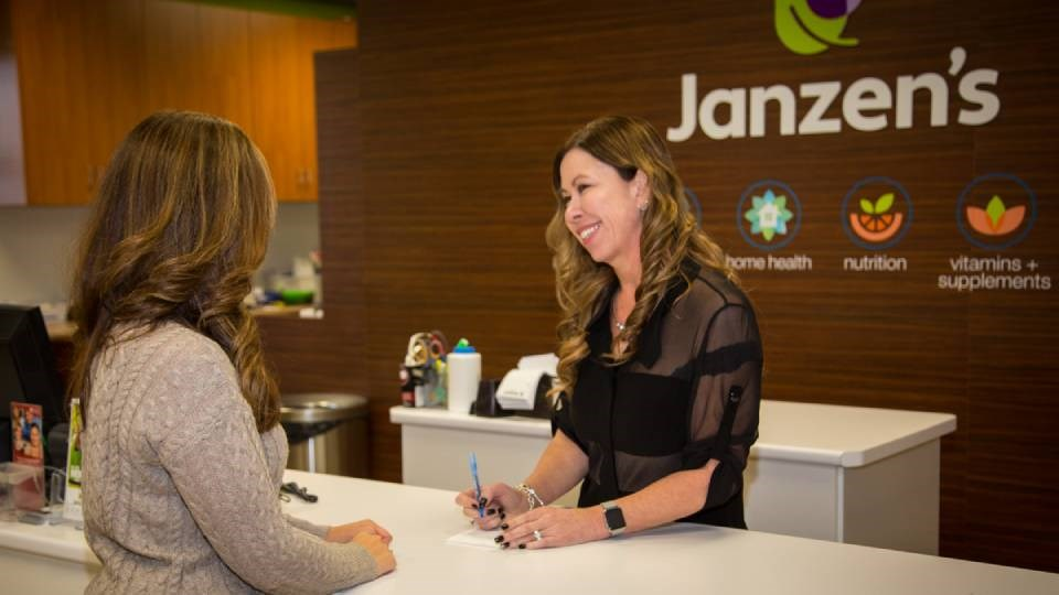 Brenda Adams has owned Janzen's Pharmacy since 2002, but the flagship site has actually been in business for more than a century.