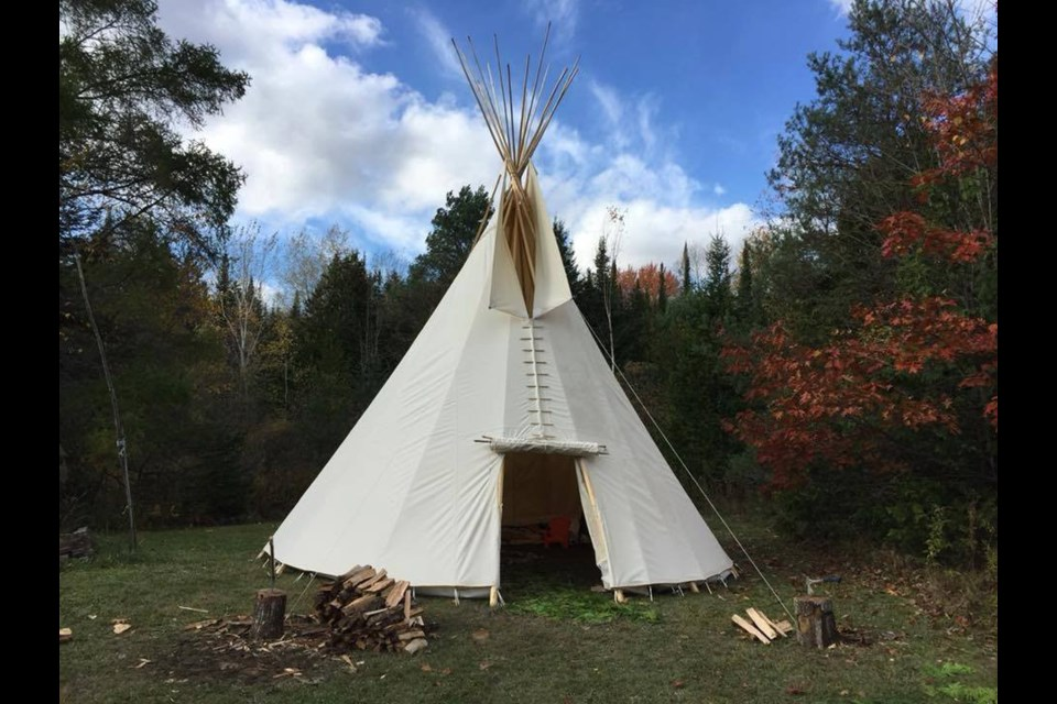 Sewn Home, based in Timmins, produces custom-designed, handmade canvas tent structures, such as teepees, wall tents, wigwams, prospectors' tents, and wedge tents. (Supplied photo)
