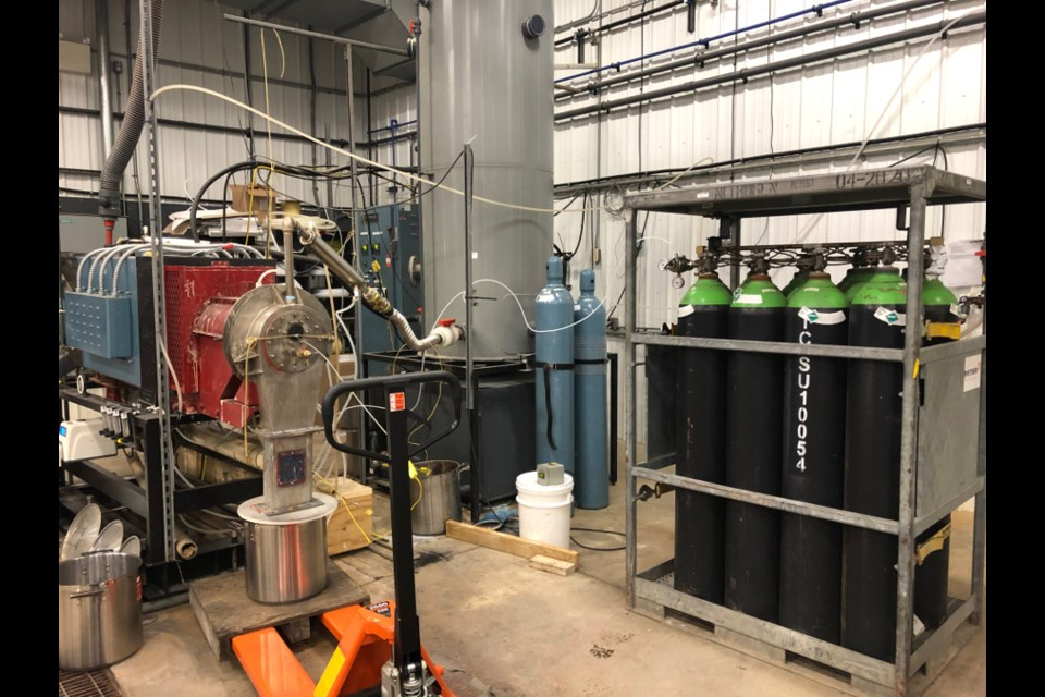 Based in Fort William First Nation, Carbonix is developing a proprietary process using activated carbon to treat industrial waste streams and clean up contaminated environments. (Supplied photo/Carbonix)